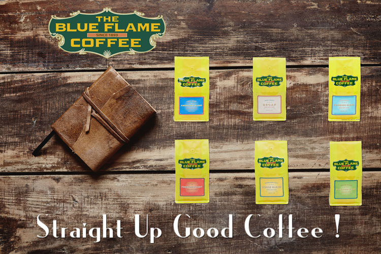 The Blue Flame Coffee Collections