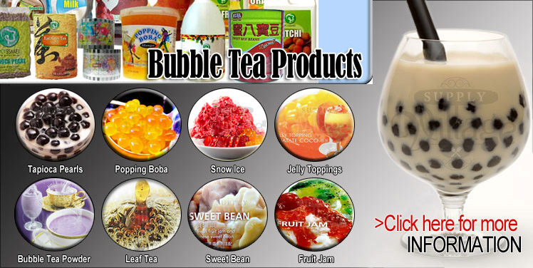 Bubble Tea Products
