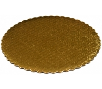 Gold Laminated Cake Circle DW | SupplyVillage.com