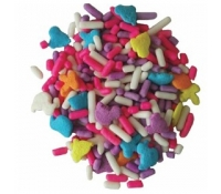 Sprinkle King Mixed Shapes Sprinkles | Supplyvillage.com
