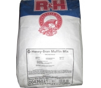 R&H Honey Bran Muffin Mix 25 lb Bag | SupplyVillage.com