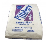 Pillsbury Bakers' Plus® Carrot Cake Mix 25 lb Bag | SupplyVillage.com