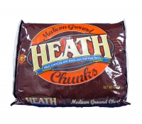 Heath Chunks Toffee Bits - 3lb Bag | SupplyVillage.com