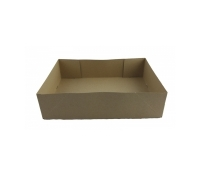 Brown #2 Donut Trays (Medium) w/ knockout holes 250 pcs | Supplyvillage.com