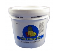 Fruit Fillings Banana Icing Fruit 10 lbs. | SupplyVillage.com