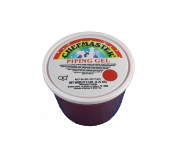 Chefmaster Red Piping Gel 5 lbs | Supplyvillage.com
