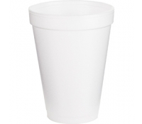 Dart Insulated Foam Cups 10 oz/1000ct - 10J10 - supplyvillage.com