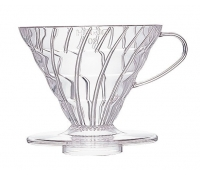 Hario Coffee Dripper V60 02 Clear Plastic