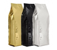 8oz Quad-Seal Foil Gusseted Bags