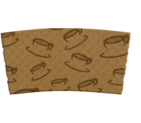 Java Jacket - 12-20oz Cup Sleeve - Pre-assembled - 1300/case