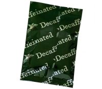 2oz Pre-Printed Decaf Pattern Flat Pouch