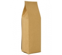 2oz Natural Kraft Foil Gusseted Bag