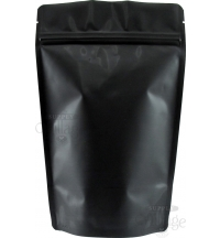 Plain Foil Stand Up Pouch - Matte Black