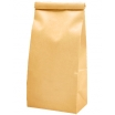 1/2 lb (225g) Tin Tie Paper Bags with PLA Liner - Natural Kraft