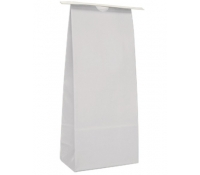 1 lb (450g) Tin Tie Paper Bags with Poly Liner (Narrow) - No Window