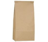 5 lb (2.2kg) Tin Tie Paper Bags with Poly Liner (Narrow) - No Window