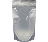 2oz Poly/Foil Stand-Up Zip Pouches