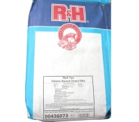 R&H Richtex Raised Donut Mix - 50 lb Bag