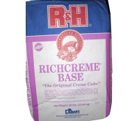R&H RichCreme Cake Base - 50 lb Bag