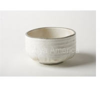 Matcha Tea Bowl: Pure White