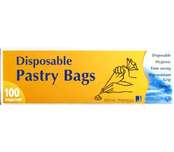 12 inch disposable pastry bag 100 bags in a box