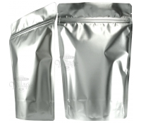 8 lb. Metallized Stand-Up Zip Pouches